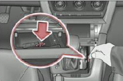 не снимается с паркинга мерседес 211