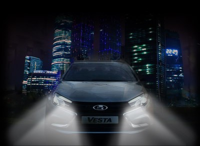Lada Vesta Night