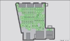 Схематическое изображение блока предохранителей